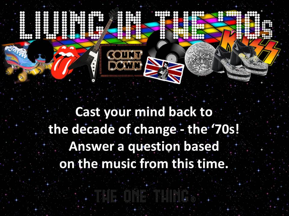 Living in the \'70s